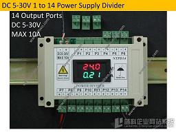 Multifunction power distribution module with LED screen